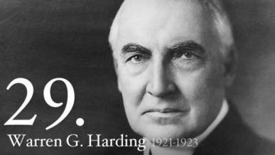 Warren G. Harding | The White House | 1920's and the Great Gatsby | Scoop.it