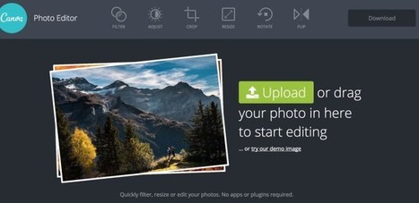 Canva Photo Editor. Un studio photo en ligne pour toutes vos images | Tice | Scoop.it