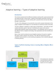 CogBooks -White Papers on adaptive learning | Educar para la ciudadanía | Scoop.it
