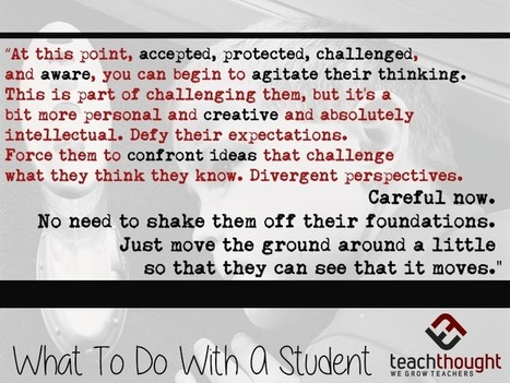 What To Do With A Student - | TeachThought | Scoop.it