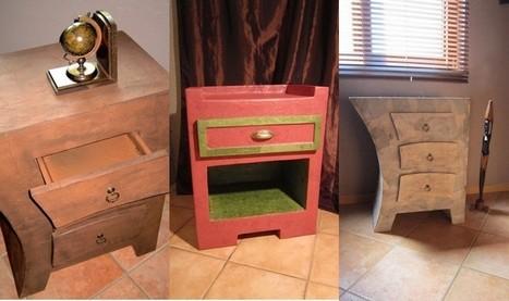 Cartonrecup | meubles et objets en carton | Scoop.it