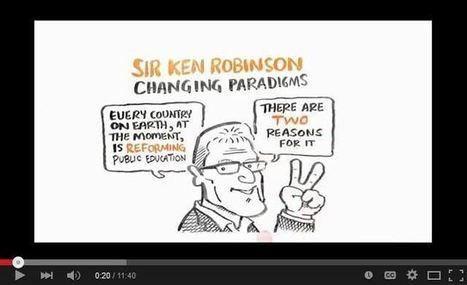 Cambiando Paradigmas en #Educación - Ken Robinson | Video | Help and Support everybody around the world | Scoop.it