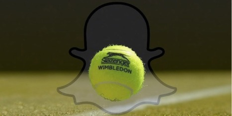 Snapchat inks multiyear deal with Wimbledon as it reveals 10 million Brits are using the app each day | SportonRadio | Scoop.it