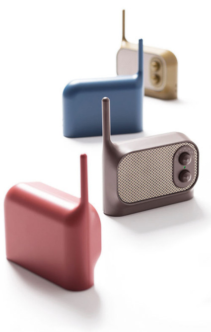 Mezzo Radio by Ionna Vautrin for Lexon | Daily Icon | educational technology daily | Scoop.it