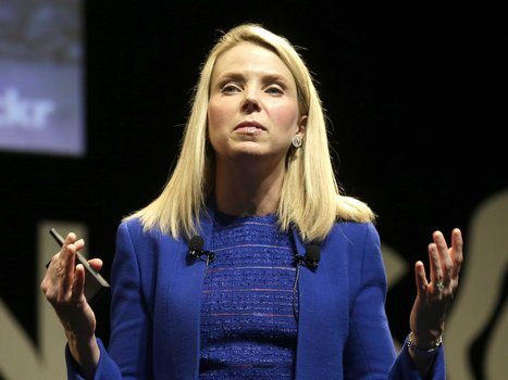 The rise and fall of Marissa Mayer, the once beloved CEO of Yahoo | Digital Love | Scoop.it