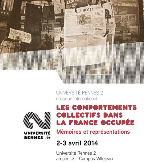 "Colloque international ""Les comportements collectifs dans la France occupée"" - Université Rennes 2 