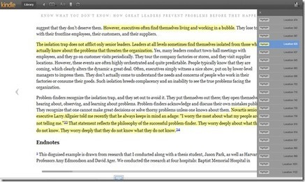 Kindle eBooks as a Learning/Self Developmentplatform | Cool Tools | Scoop.it