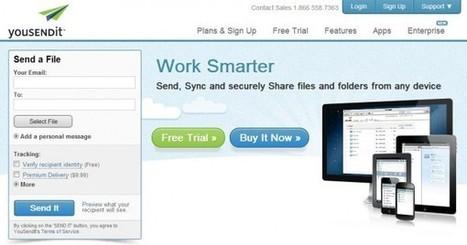 3 buenas opciones para enviar archivos de varios gigas por email | Personal y hobbies | Scoop.it