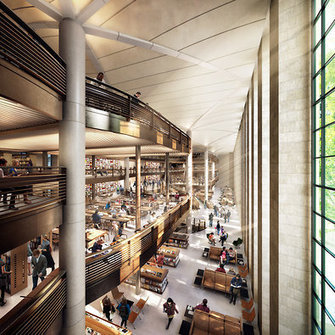 New York Public Library Offers Peek at Renovation | Library world, new trends, technologies | Scoop.it