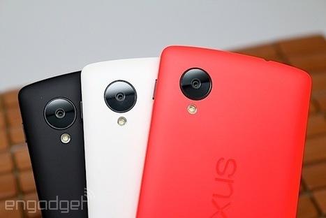 This is the red Nexus 5 (hands-on) | Social Media | Scoop.it