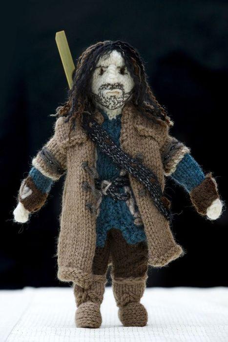 Geek Mythology, ninezku: Oh god, knitted Peter Jackson!... | 'The Hobbit' Film | Scoop.it