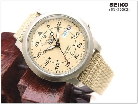 Seiko SNK803 Automatic Mechanical Watch for Men - Recommend | Deals News Share | Scoop.it