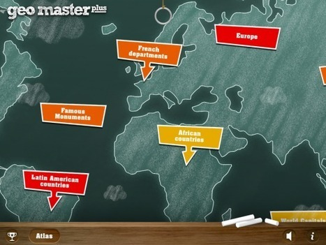 GeoMaster Plus Offers Fun Games for Learning World Geography | Giocare con la Geografia | Scoop.it