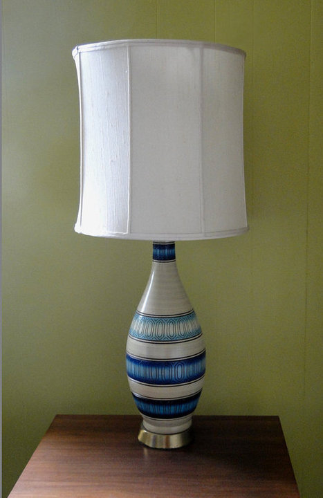 Pottery Table Lamp Blue | Home Decoration Ideas | Scoop.it
