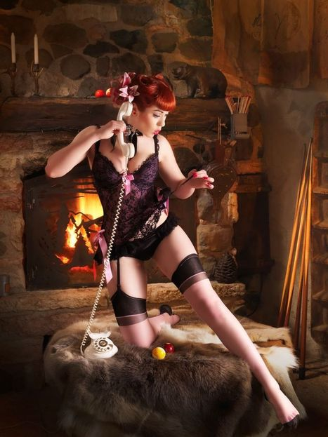 The  Magical Cabin Of Pin Ups and Billiards by Maurizio Marcato | Rockabilly | Scoop.it