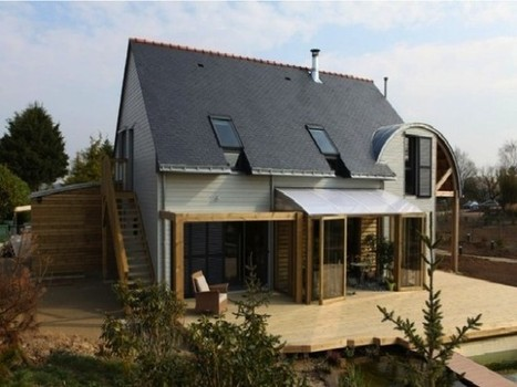 Case Ecologiche in Legno: la villa by Patrice Bideau in Britannia | Maisons bois & bioclimatiques | Scoop.it