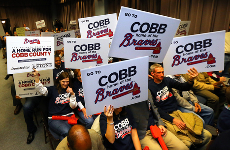 "Cobb educator: The county's embrace of Braves hurts Cobb, its... | Buffy Hamilton's Unquiet Commonplace ""Book"" 