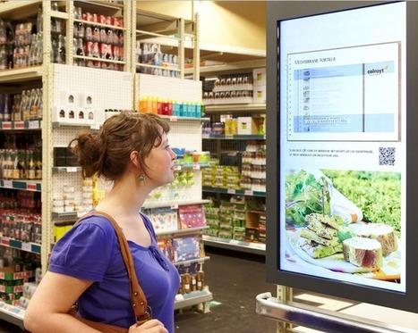 Grand déploiement d'écrans digitaux et interactifs pour Colruyt | La Minute Retail | Commerce Connecté | Scoop.it