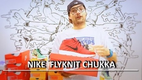 L'Unboxing #04 Nike Flyknit Chukka | Sneakers-Culture | Sneakers Culture | Scoop.it