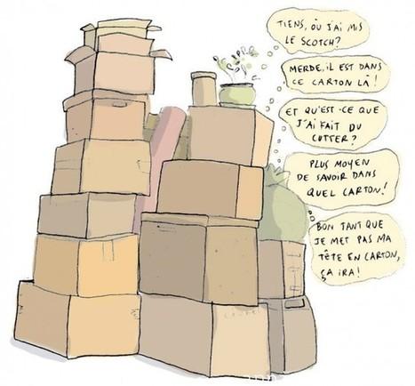 Comment déménager efficacement (quand on n'aime pas ça) – Cocon de décoration: le blog | Lifestyle | Scoop.it