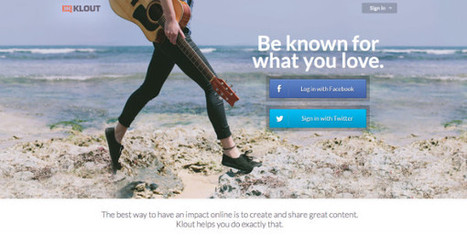 Klout Redesign Focuses on Content Creation | SocialTimes | SocialMoMojo Web | Scoop.it