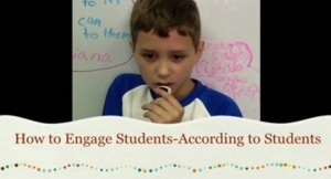 Student Engagement According to First Graders | Differentiation | Scoop.it