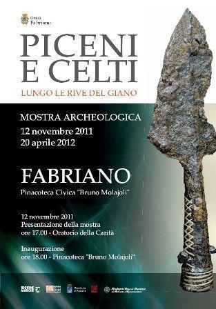 """Mostra """"Piceni e Celti lungo le rive del Giano"""" - Fabriano (AN), 12 novembre 2011 - 20 aprile 2012   Le Marche un'altra Italia   Scoop.it"""