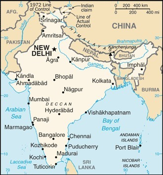A Map of India | Sold: India | Scoop.it