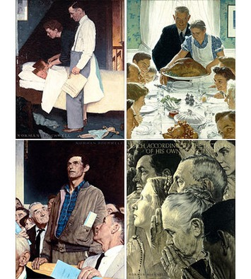 What Do Norman Rockwell's Four Freedoms Mean to You? | Dayton Art Institute | For Art's Sake-1 | Scoop.it