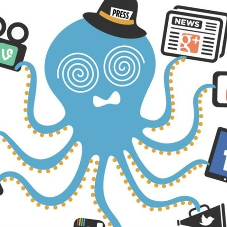 Twitter Fail Whale Artist's Newest Creation: The Overwhelmed Octopus | Social Media Marketing | Scoop.it