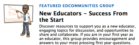 Join the NEA edCommunities New Educators Group | Education Today and Tomorrow | Scoop.it