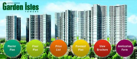 Jaypee Greens Garden Isles | Garden Isles in Sector-133 Noida | DLF My town Bangalore | Scoop.it
