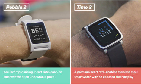 Pebble 2 & Time 2 Smartwatches, and Pebble Core for Runners and Hackers Launched on Kickstarter | Embedded Systems News | Scoop.it