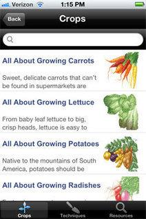 Food Gardening Guide App: An app for vegetable growers | container gardening | Scoop.it