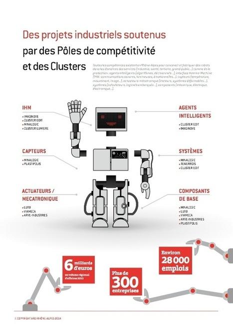Infographie : le paysage robotique rhônalpin | Entreprise numérique | Scoop.it