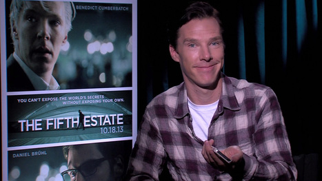 Benedict Cumberbatch asks Siri what she thinks of Julian Assange | Benedict Cumberbatch News | Scoop.it