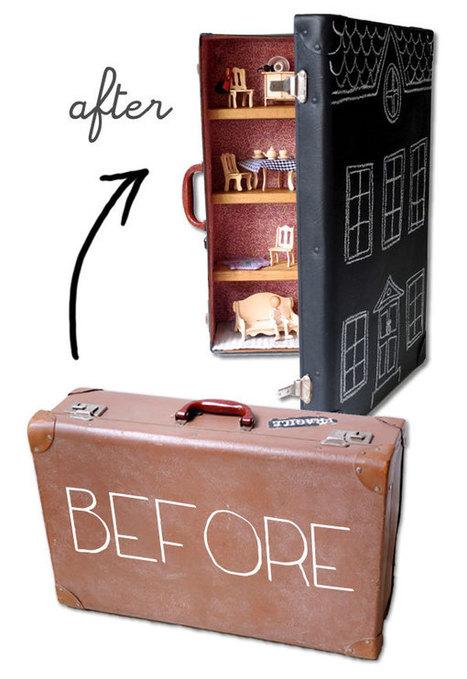 Suitcase Dollhouse for Samsonite's Suitcase Amnesty | Parent Autrement à Tahiti | Scoop.it