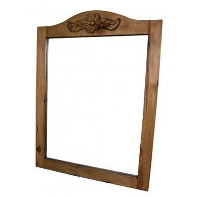 Curved Rustic Wood Mirror With Flower | Curved Rustic Wood Mirror With Flower | Scoop.it