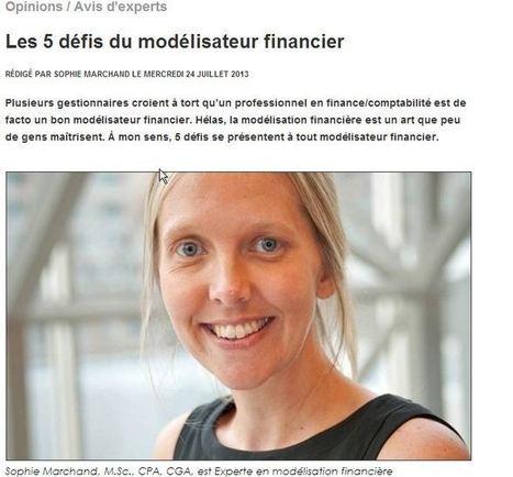Les 5 défis d'un modélisateur financier   Blogue Modelcom   Modélisation financière   Scoop.it
