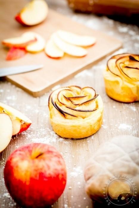 Fleur des rois : pomme / frangipane - Sucre d'Orge et Pain d'Epices | Passion for Cooking | Scoop.it