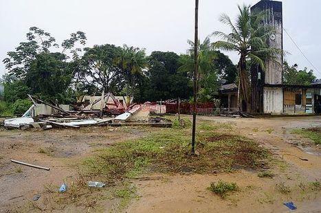 Guyane La chapelle historique d'Anne-Marie Javouhey est détruite | L'observateur du patrimoine | Scoop.it