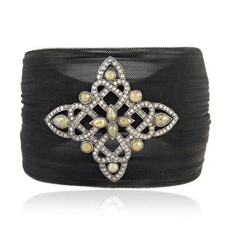 Ice Diamond Steel Cuff Bracelet | Wholesale Jewelry | GemcoDesigns | Pave Diamond Bracelets | Diamond Jewelry | GemcoDesigns | Scoop.it