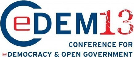 Conference for E-Democracy and Open Government | Conciencia Colectiva | Scoop.it