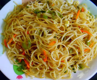 Capsicum Noodles Recipe | Culinary Art | Scoop.it