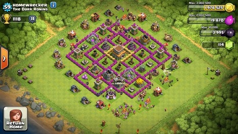 Top 10 Clash Of Clans Town Hall Level 8 Defense Base Design| | Thats My Top Ten | Scoop.it