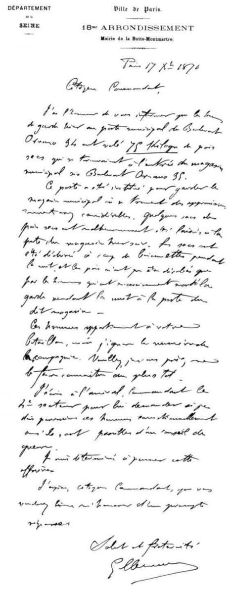 1870 - documents de guerre. Le siège de Paris. La population est affamée. | Histoire de France | Scoop.it
