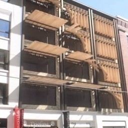 Kinetic Facade: Awesome Adaptive Window Shading System | Urbanist | e-merging Knowledge | Scoop.it