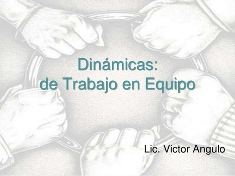 Libros y materiales educativos: Dinámicas trabajo en equipo | Teachelearner | Scoop.it