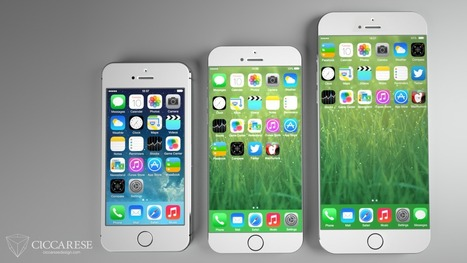 Will Apple's iPhone 6 Phablet Push The Usability Of iOS To A Breaking Point? - Forbes | Iphones | Scoop.it