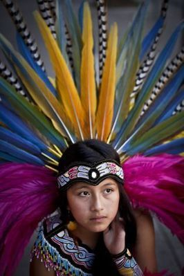 Aztec folk dancer in S.F. | Dance | Scoop.it